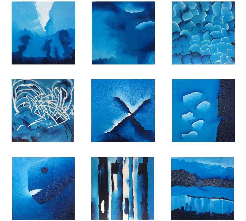 Deep Blue Secrets - The 9 ones